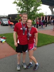 Rock n' Sole Half Marathon Hubs' 1st and Last Race
