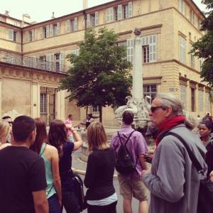A walking tour of Aix-en-Provence.