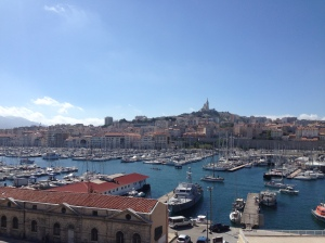 The old port of Marseille. What a view!